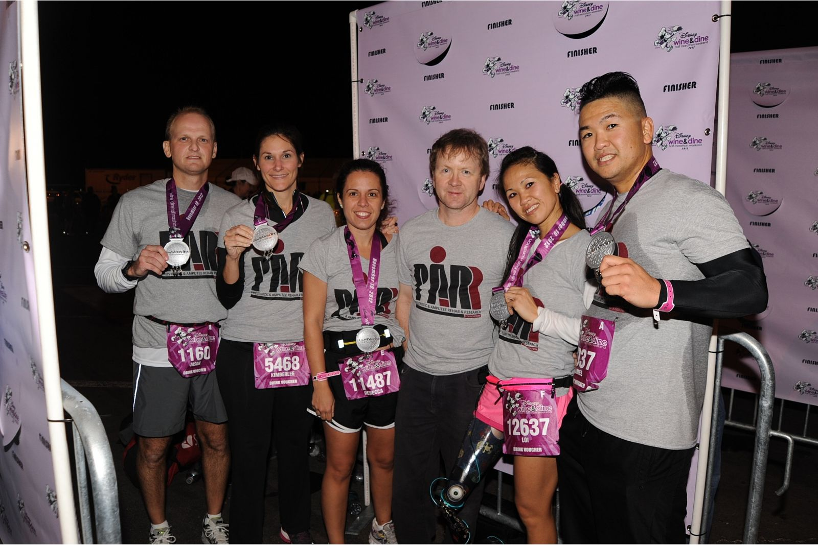 Disney's Wine and Dine Half Marathon Team 2012