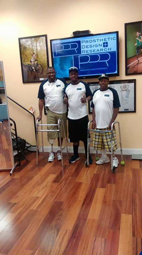 Derek and Micheal received their prosthesis with the help of PDR and Amputees Moving Forward