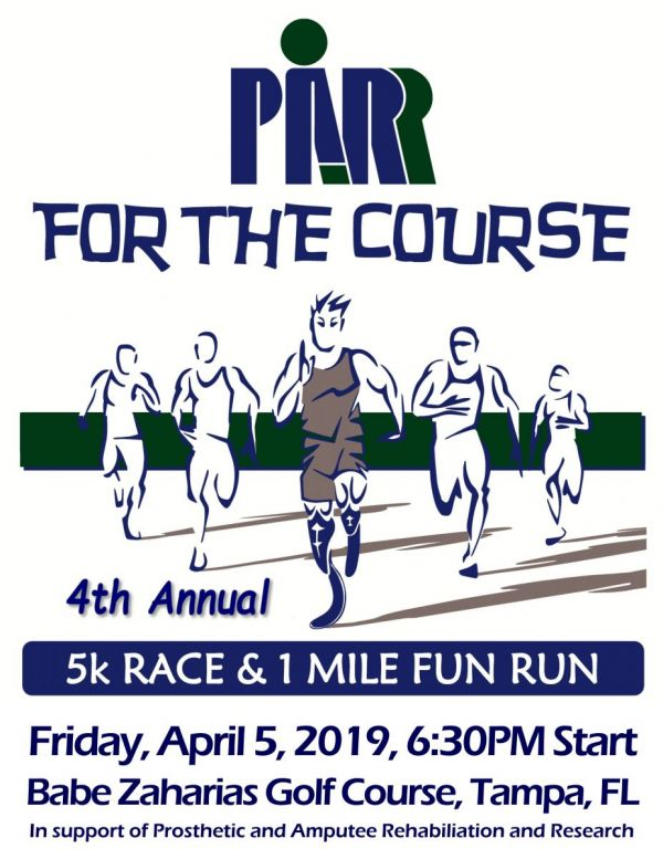 4th Annual PARR for the Course 5K/1Mile Run