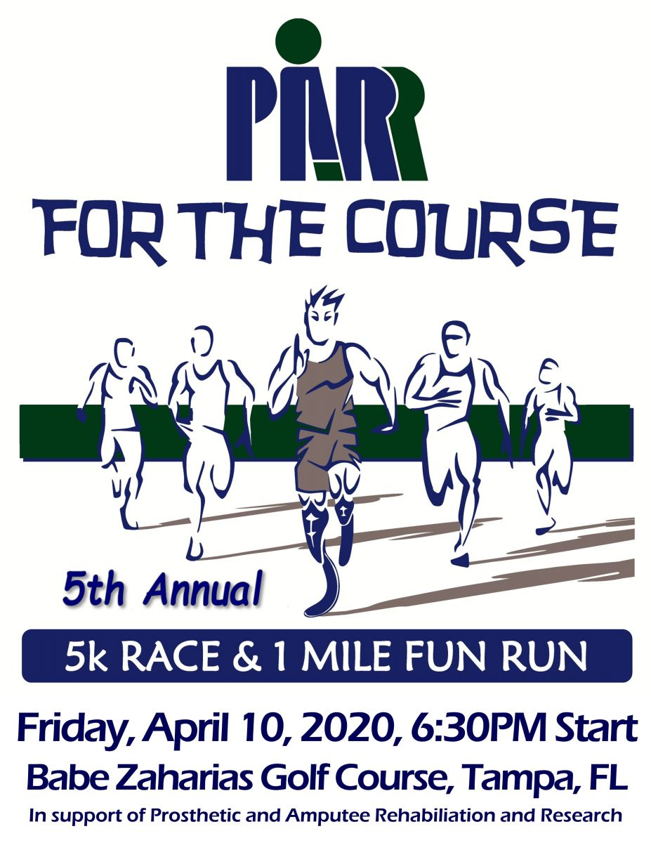 5th Annual PARR for the Course 5K/1Mile Run